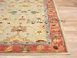 madeline persian rug blue multi from pottery barn red rug
