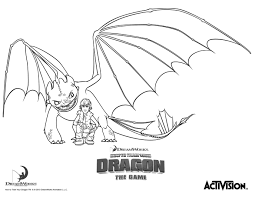 Coloring Pages For How To Train Your Dragon Toothless Best Of