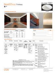 specifications jesco lighting cut sheet