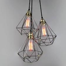 impressive cer pendant light for your house inspiration diamond cage cer pendantunique s co