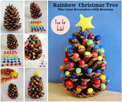 Making Pinecone Christmas Trees  ThriftyFunPine Cone Christmas Tree Craft Project