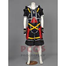 Procosplay Size Chart Procosplay High Quality Kingdom Hearts Sora 1th Cosplay Costume Kingdoms Key Master Costume Mp000263 Cosplay Girls Costumes Anime Costume Wigs From