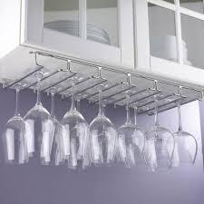 stemware racks kitchen storage
