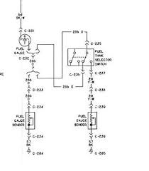 i would like to get a wiring diagram for a ford f the way the system will work there will be 1 wire from each tank sending unit going to the switch then 1 wire will go from the switch to the gage
