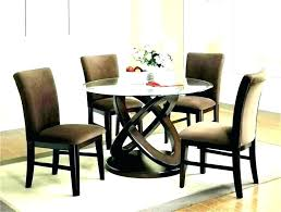 round glass dining table for 6 glass dining table set remarkable round glass dining table set