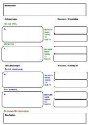 graphic organizer for argumentative essay   Template Template graphic organizer for argumentative essay