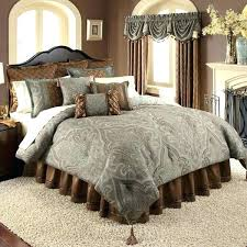 green paisley bedding brown gray blue and comforter set by sage quilt