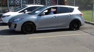 Black Mazda 3 Hillyard Custom Rimamptire 2013 Mazda 3 Riding In 18 Inch Matte