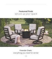wicker patio set piece outdoor furniture d free settee replacement cushions