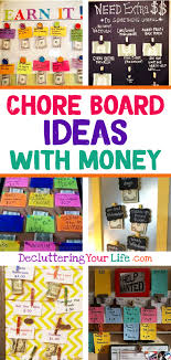69 Up To Date Chore Chart For Kids With Money