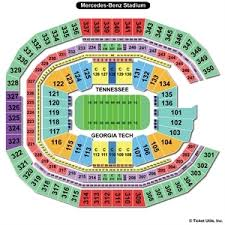 Benz Seating Chart 57 Always Up To Date Mercedes Benz Stadium Seat Numbers