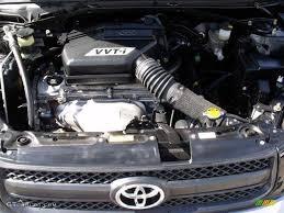 2004 Toyota RAV4 Standard RAV4 Model 2.4 Liter DOHC 16-Valve VVT-i ...