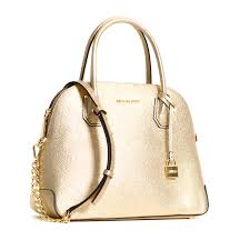 michael kors mercer large dome satchel