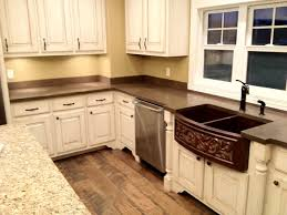 concrete countertops backsplash by burco surface decor traditional kitchen