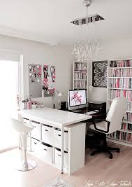Awesome home office decorating Cool Interior Design Ideas For Lady Home Office Working Women Milk With Honey Decohomey Impressive Home Office Decoration Ideas Decohomey
