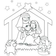 Nativity Coloring Pages Nativity Coloring Book Nativity Coloring