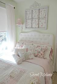 upcycled window with curtains wall art on shabby chic wall art bedroom with 35 best shabby chic bedroom design and decor ideas for 2018