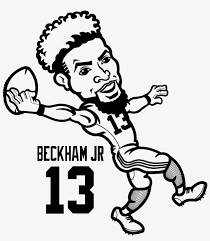 Odell Beckham Jr Coloring Sheets 5 By Michael Odell Beckham Jr