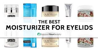 Eyelid moisturizer