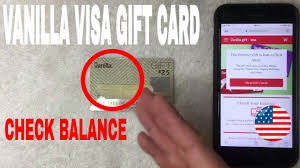 One final way to obtain your debit card balance is through your bank's app. How To Check Vanilla Visa Gift Card Balance Youtube