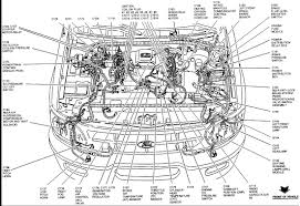 ford contour engine diagram ford wiring diagrams