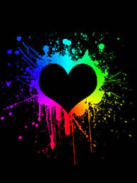 free animated wallpaper gif. Interesting Wallpaper Free Animated Heart Gifs  Animated Rainbow Heart Mobile Wallpaper Intended Free Gif E