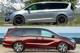 2019 Chrysler Pacifica Vs 2019 Honda Odyssey Which Is