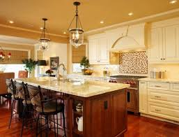 stylish kitchen island lighting. Modren Lighting Stylish Best Lighting Over Kitchen Island With Brown Floor 9646 Regarding  For Prepare