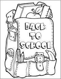 Small Picture Coloring Pages Back To School Coloring Pages Sarah Titus First