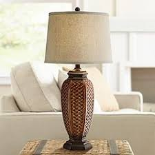 tropical table lamps. Faux Wicker Jar Table Lamp Tropical Lamps S