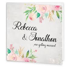 Wedding Invitation Folding Floral Beauty Folding Wedding Invite Loving Invitations