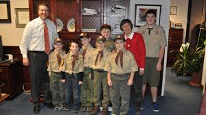 Scouts tour Brookhaven Town Hall | Newsday