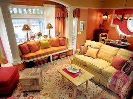 Orange Color Living Room Designs Color Trends Decorating With Orange Diy
