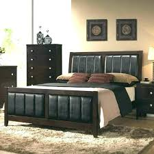 wood and leather bed brown leather headboard dark brown headboard wood and leather headboard leather and wood and leather