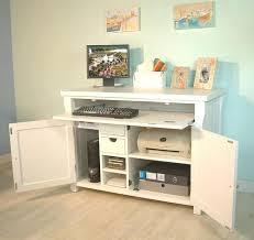 hidden office desk. Medium Size Of Hidden Office Desk Cabinet Built In Ideas Home Cabinets Desks Uk M