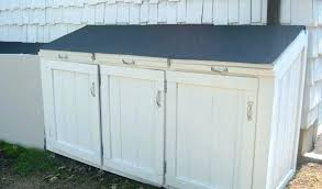home depot garbage shed garbage can shed home depot outdoor garbage can storage home depot luxury
