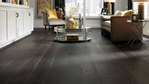 Dark Wide Plank Hardwood Flooring Unfinished HARDWOODS DESIGN