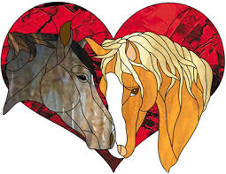 valentines horse heads valentines love heart stained glass pattern 5 00 victorian angel victorian angel