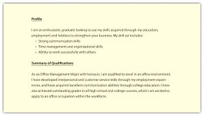 Summary Examples For Resume Summary Of Qualifications Sample Resume Accounting Unique Customer 76