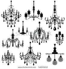 cool black and white chandelier black white chandelier picture