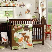 animal crib bedding sets baby crib bedding sets cribs forest animal woodland tales 4 piece