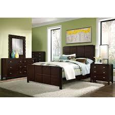 Delightful Mosaic King Bed   Dark Brown. Queen Bedroom SetsQueen ...