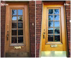 charming design refinishing weathered wood door how to re your old wood front door