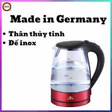 ⭐Ấm Siêu Tốc Thủy Tinh Cao Vấp LENTZ 1.8L – hàng xách tay của Đức – công  xuất 2200W: Mua bán trực tuyến Ấm siêu tốc với giá rẻ