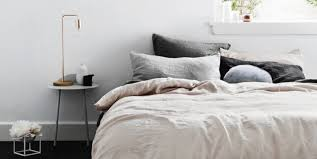 pale pink linen sheets roundup