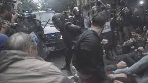 Resultado de imagen de celebración referendum catalan ilegal