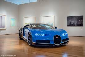 Bugatti Chiron Is Million Supercar Artwork Business Insider