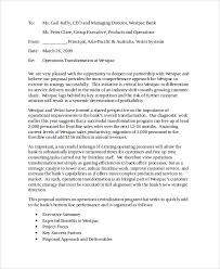Collection of Solutions Business Proposal Letter To Bank For Your Free