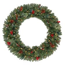 Battery Operated Lighted Garland Martha Stewart Living 48 In Battery Operated Winslow