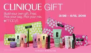 a free gift with any 28 clinique purchase